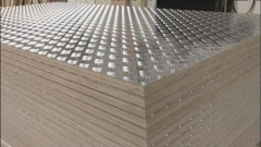 Aluminium Treadplate / Plywood Flooring - Heavy Duty