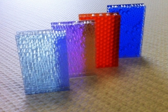 Clear Polycarbonate Honeycombs
