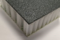 Gritted GRP Honeycomb Panel - Anti Slip